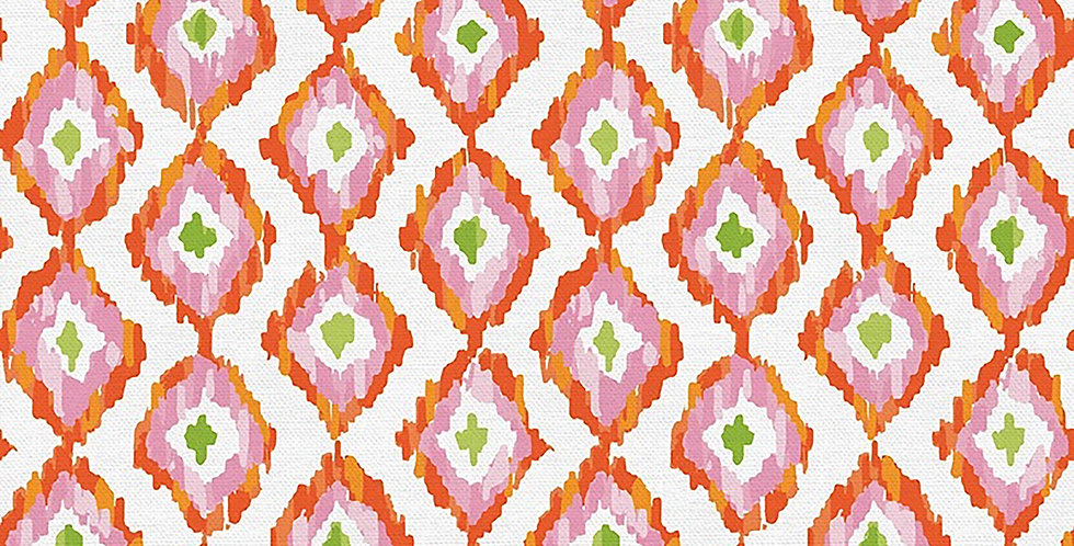 Citrus House Diamond Stripe
