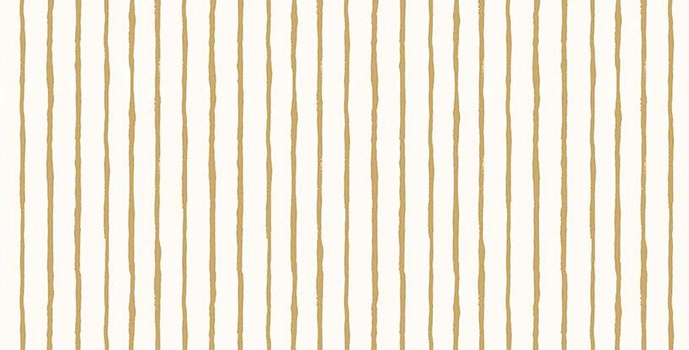 Dream World Stripes Cream Sparkle