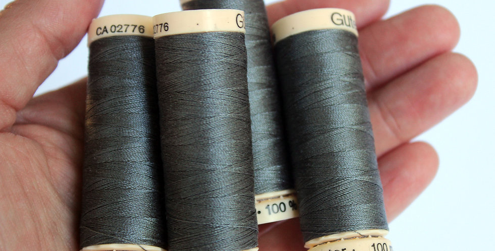 Grey Thread / Gütermann / Sew-All Polyester All Purpose Thread