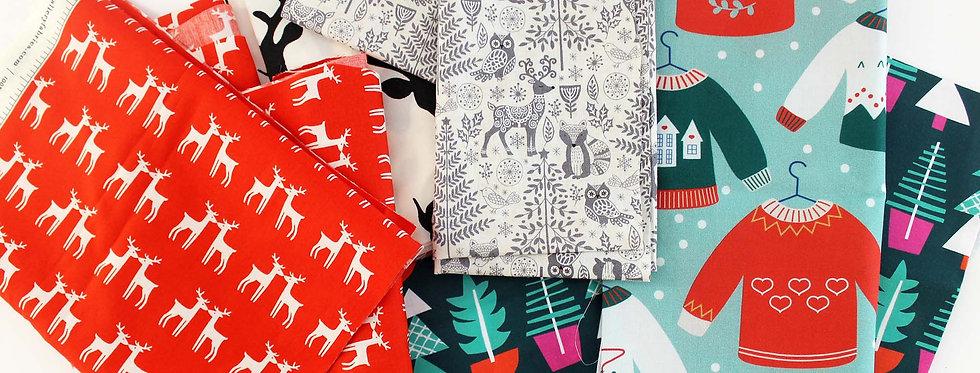 Christmas Fabric Scrap Pack