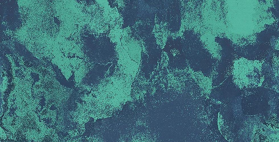 Polished Marble Blue Turquoise