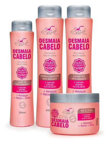 Kit Desmaia Cabelo 4 Itens