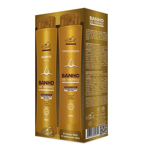 Kit Banho de Verniz 2 itens