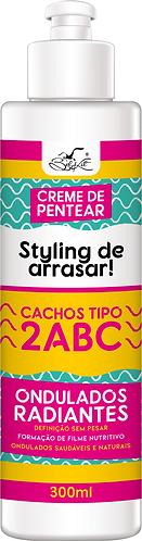 Creme de Pentear styling cachos tipo 2ABC