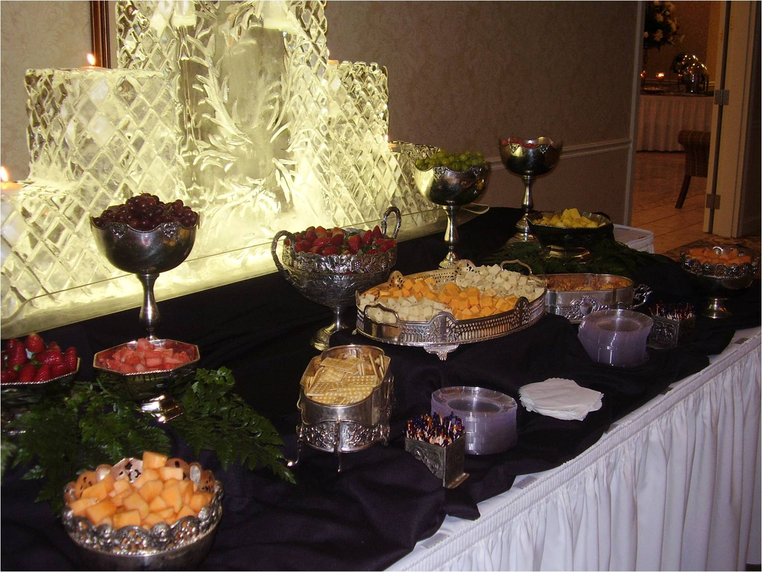 Fruit and Cheese goblets