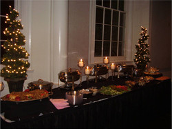 x-mas meat table