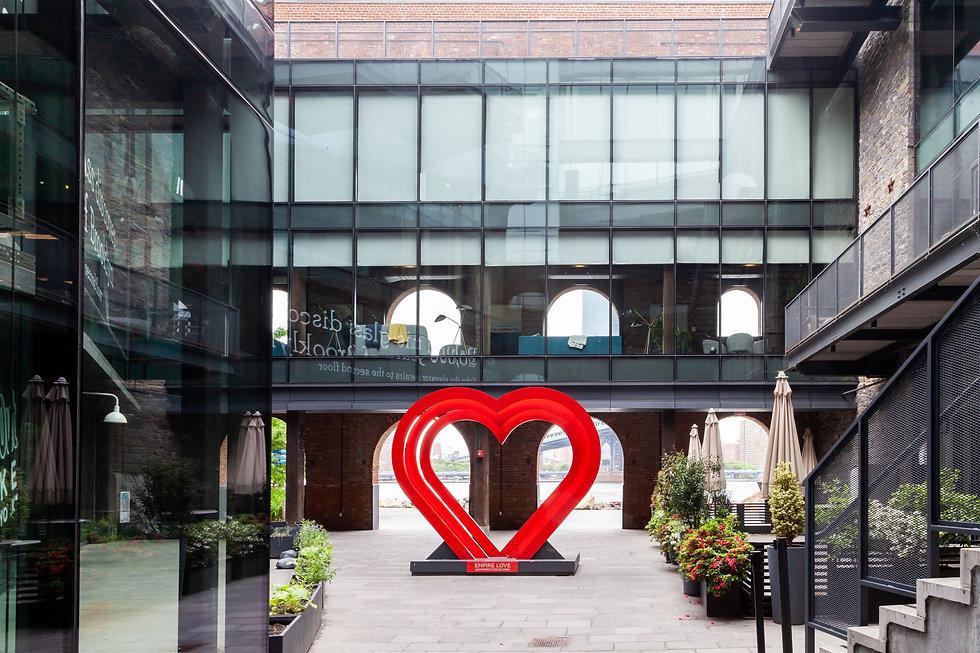 Heart Sculpture courtesy Bednark Studios