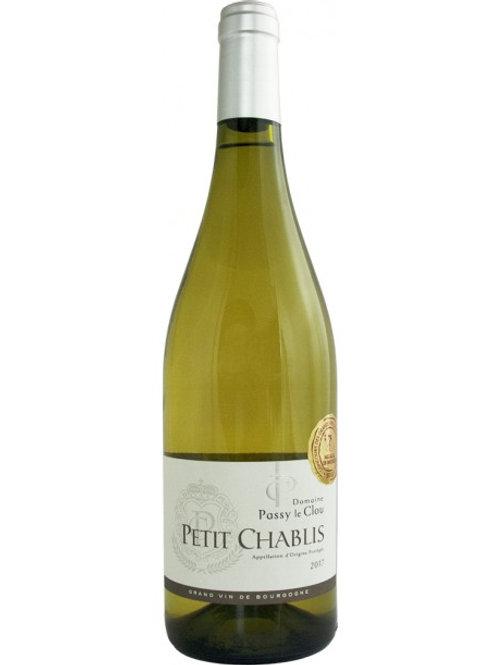 Domaine Passy Le Clou, Petit Chablis, Chardonnay 2017
