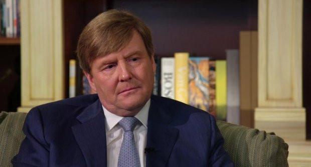Koning Willem-Alexander toont openhartig zijn verdriet in het interview met Wilfried de Jong (26-04-2017)