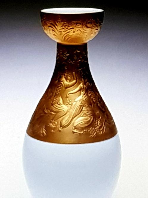 """Bjorn Wiinblad """"Magic flute"""" Rosenthal 1970s vase"""