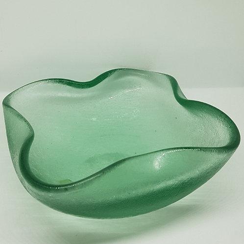 Flavio Poli Seguso vetri d'arte corroso 1940s