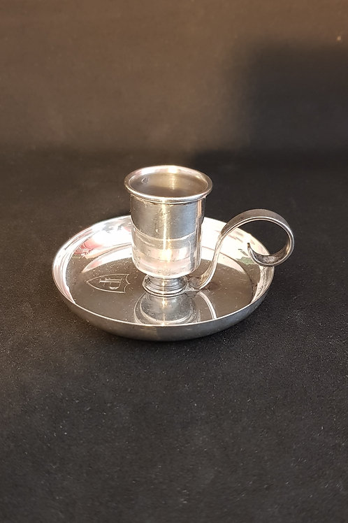 Italian silver Miracoli Milano mid century candleholder