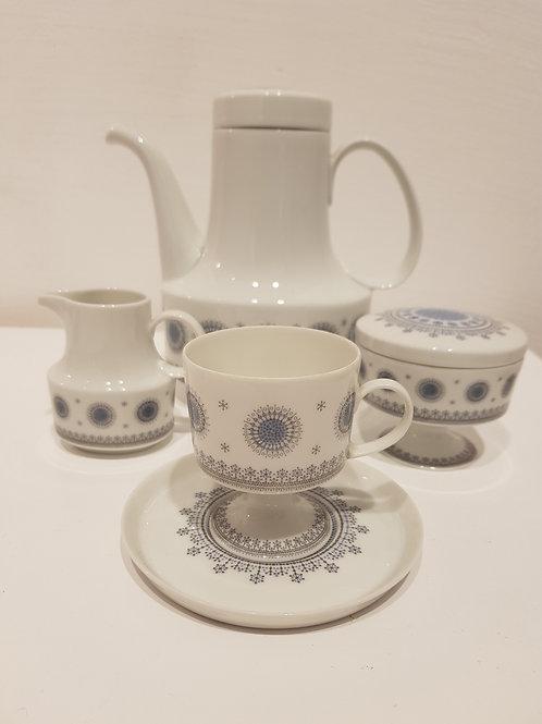 espresso 6 cups set Tapio Wirkkala Rosenthal 1960s