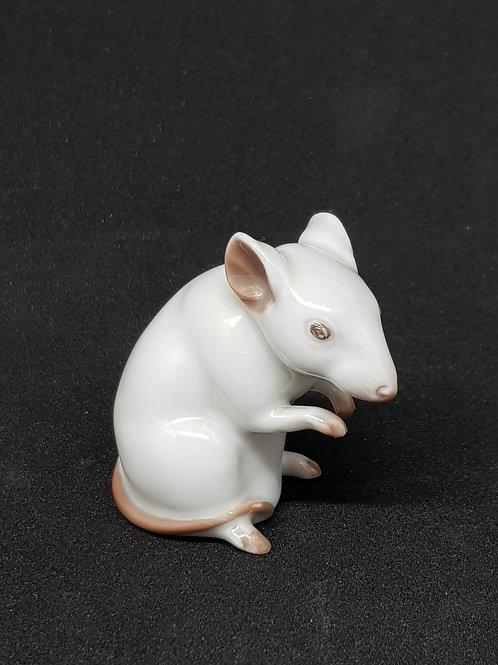 Miniature Rosenthal porcelain mouse 1910s