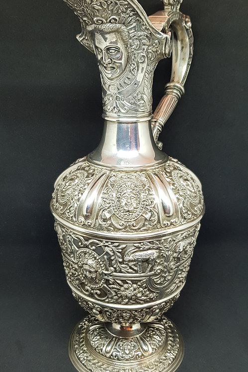 Cellini pattern English sterling pitcher