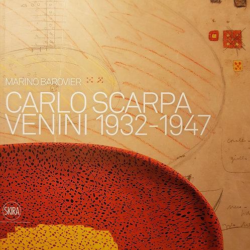"""Marino Barovier """"Carlo Scarpa Venini 1932-1947 Skira"""