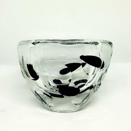 Vicke Lindstrand cut glass Kosta 1950s