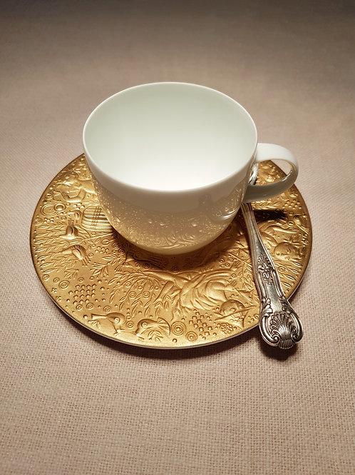 "1/7 ""Zauberflote"", ""Magic flute"", Bjorn Wiinblad,  american coffee cup."