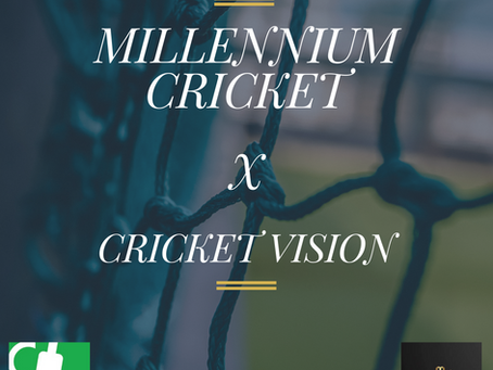 Partnership With Millennium Cricket