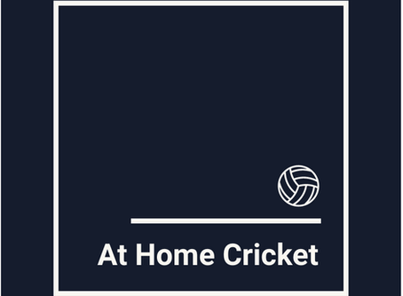 At Home Cricket Campaign