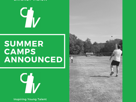 Summer Camps Announced!