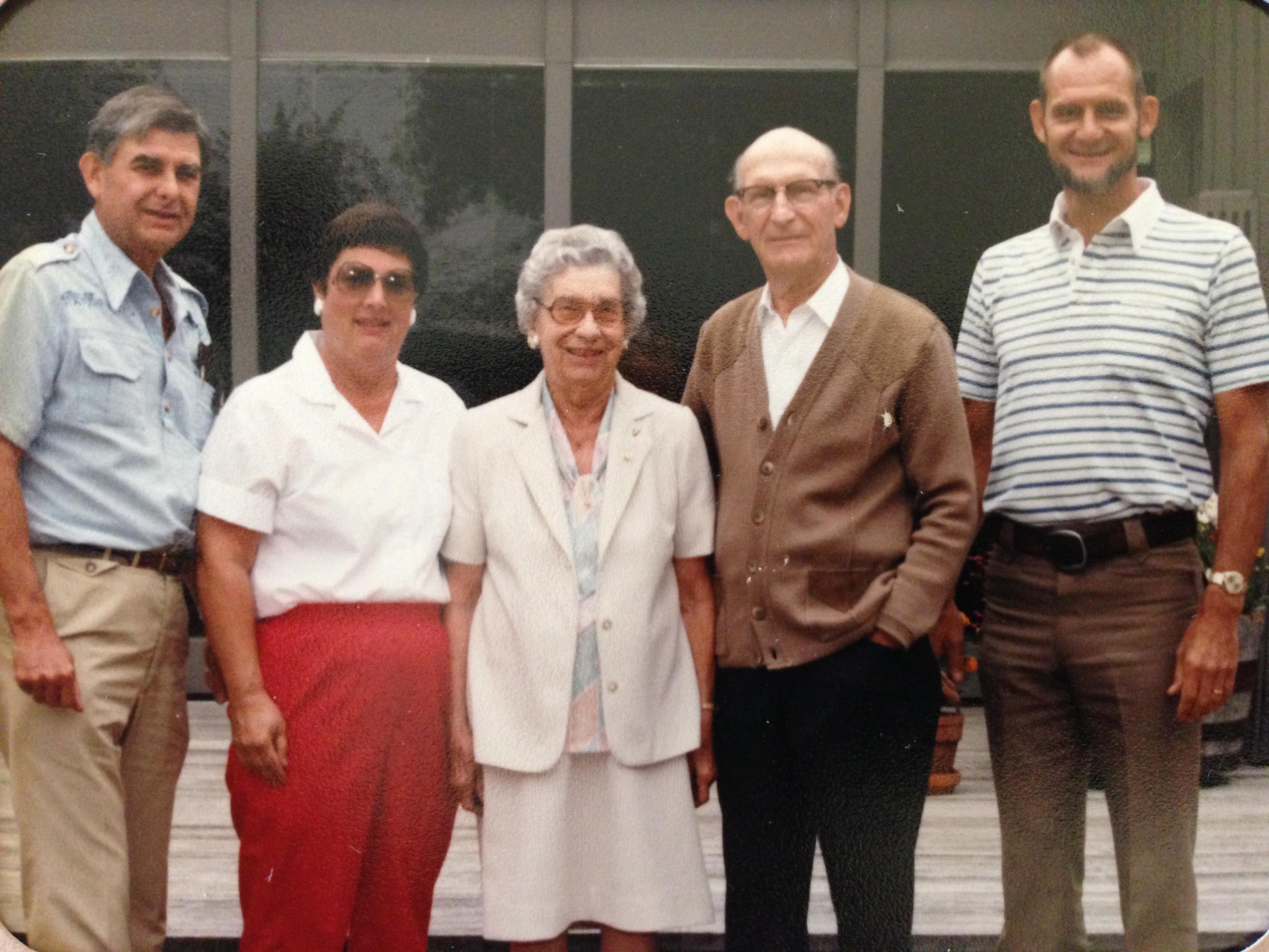 Bob, Norene, Vernice, uncle & cousin