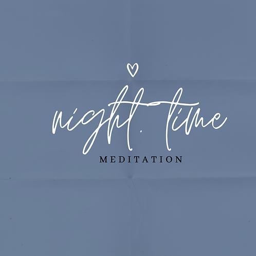 Nighttime Meditation