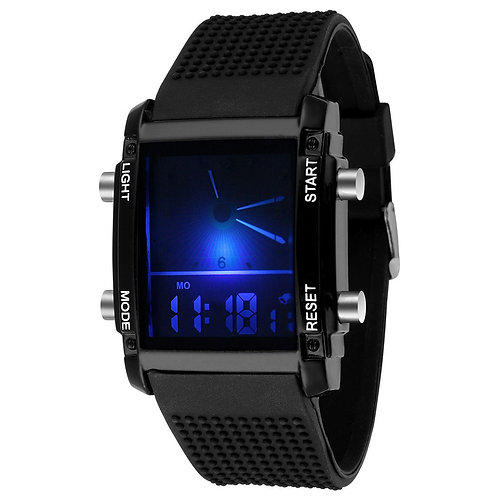 Dial/Numeric LED Watch