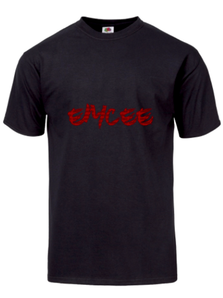 Xspanned Emcee Tee Black/Red