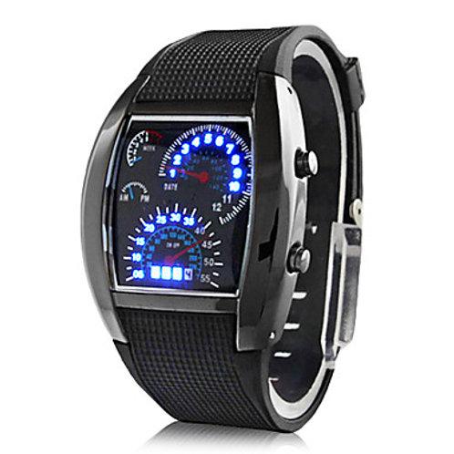 Binary Speedometer LED Watch