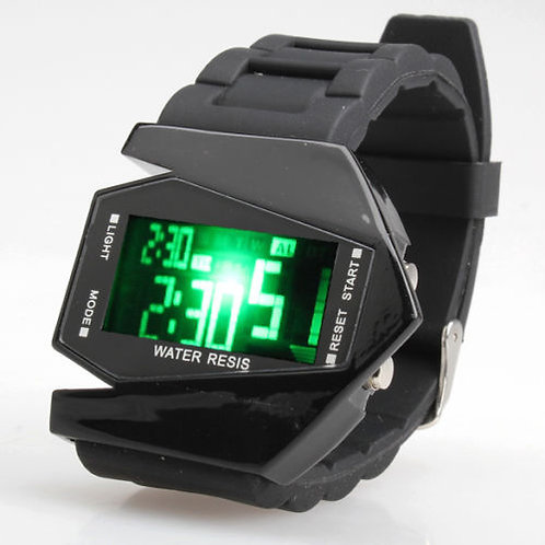 Numeric Stealth LED Watch