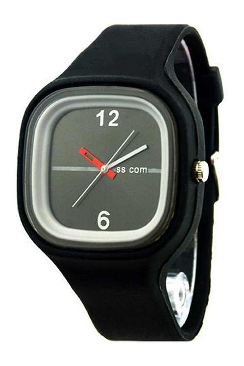 Dial Analog Silicone Watch