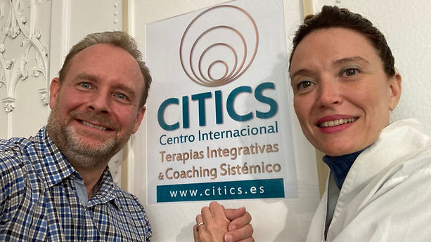 CITICS directores Ralf Dellen y Sonia Blanc Létard
