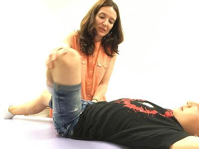 Osteopatía Sonia Blanc Létard - ajuste de golpes