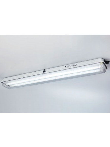 LINEAR LUMINAIRE FOR FLUORESCENT LAMPS EXLUX