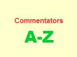 Commentators A-Z