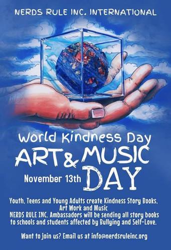 World Kindness Day November 13th, 2017