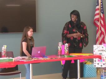 Samantha's Love Foundation NERDS RULE INC 5th Grade Ambassador Vision Board Event