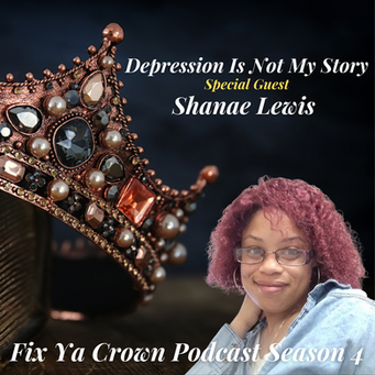 NERDS RULE INC's Fix Ya Crown Podcast with Dr. Tristaca Guest Shanae Lewis