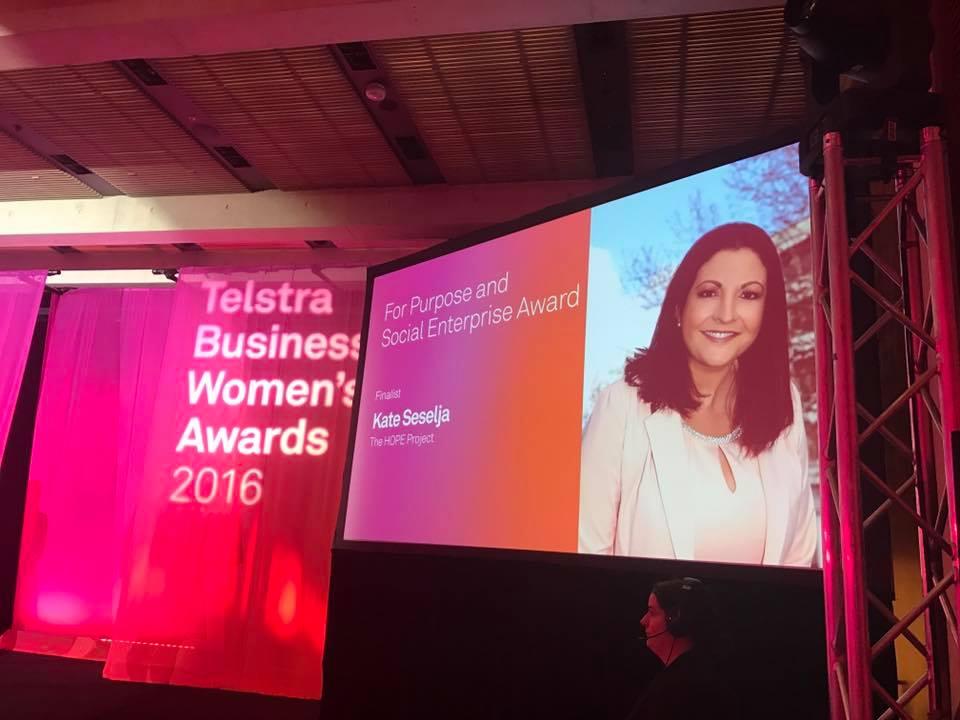 Telstra Business Women's Award