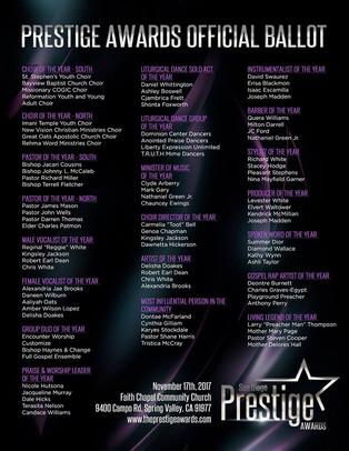 The San Diego Prestige Awards