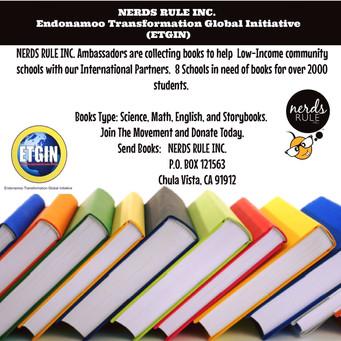 NERDS RULE INC. AMBASSADORS Uplifting Students Around The World!