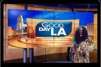 NERDS RULE INC's World  Kindness Global Ambassador Dr. Tristaca McCray On Good Day LA