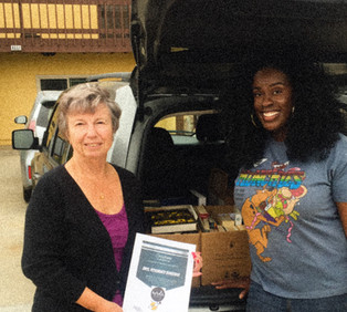 Rachel's Hope Donates Over 400 Books and partners with NERDS RULE INC.