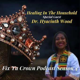 NERDS RULE INC's Fix Ya Crown Podcast with Dr. Tristaca Guest Dr. Hyacinth N. Wood