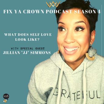 "NERDS RULE INC's Fix Ya Crown Podcast With Dr. Tristaca McCray Guest Jillian ""JJ"" Simmons"