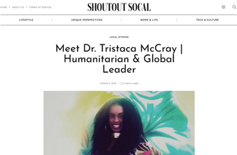 NERDS RULE INC.'s Dr. Tristaca McCray featured today in SHOUTOUT SOCAL