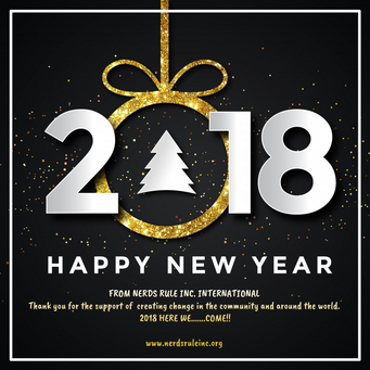 HAPPY NEW YEAR! from NERDS RULE INC. INTERNATIONAL