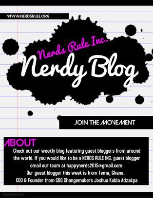 NERDS RULE INC. Guest Bloggers