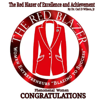 2021 Red Blazer of Excellence and Achievement Award to Dr. Tristaca McCray